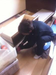 $遺品整理宮城仙台@スマイルライフみやぎブログ-宮城県仙台市の遺品整理中の家具分解