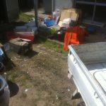 被災地の家財整理