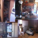 2世帯住宅の遺品整理・・