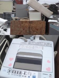 $遺品整理宮城仙台@スマイルライフみやぎブログ-不用品回収処分依頼の風景|2013010127-4