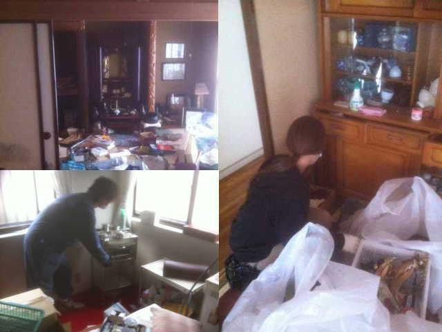 $遺品整理@宮城仙台スマイルライフみやぎのブログ-仙台市の遺品整理作業風景|2012年3月