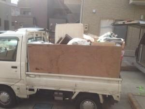 $遺品整理宮城仙台@スマイルライフみやぎブログ-仙台市内の家財整理後の不要品回収-1