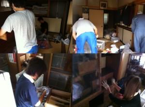 $遺品整理宮城仙台@スマイルライフみやぎブログ-宮城県の遺品整理作業風景20120908-3