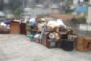 宮城県仙台市の遺品整理|整理した遺品の搬出風景|20140908-4