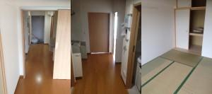 仙台市の災害復興住宅で遺品整理|20140925