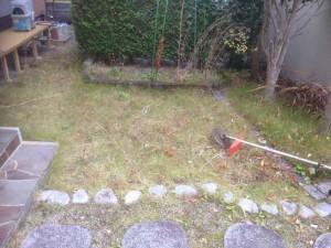 家財整理後の草刈|宮城県仙台市 (3)