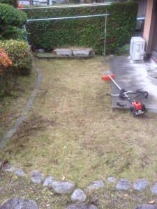家財整理後の草刈|宮城県仙台市 (4)
