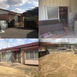 遺品整理後の家屋解体工事