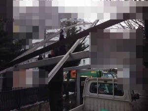 遺品整理前のガレージ撤去 宮城県仙台市の遺品整理(9)