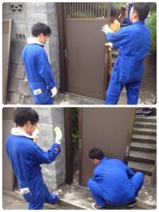 遺品整理作業前の現場整理|20150705