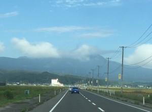 遺品整理のため、仙台市北部へ
