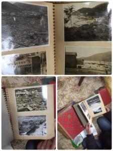 遺品整理中に発見した津波の画像