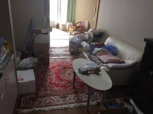 老人ホームの残置物家財整理 (1)