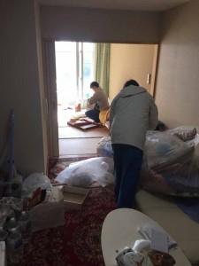 老人ホームの残置物家財整理 (3)