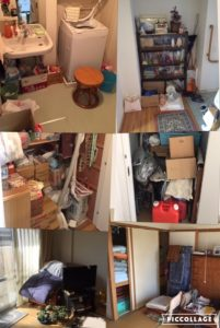 集合住宅での遺品整理 |宮城仙台 (3)