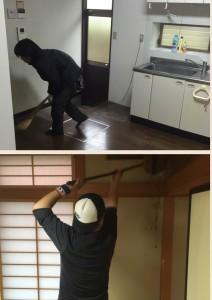 遺品整理後の清掃|宮城県岩沼市