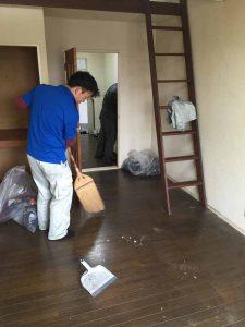 宮城県仙台市1Rアパートの遺品整理 (3)