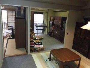 施設入居に伴う家財整理 (1)