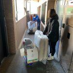 強風の中、仙台市内で2軒の家財不用品整理