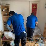 転勤に伴い社員寮の家財整理