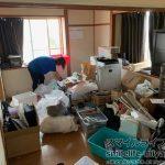 宮城県仙台市内にある2LDKアパート(社員寮)で遺品整理
