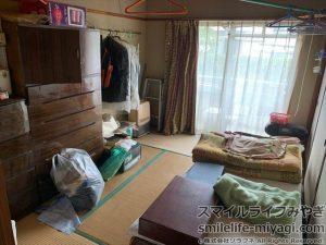 遺品整理前の写真③|宮城県登米市の遺品整理