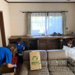 宮城県丸森町|お部屋指定の遺品整理(2t車×6台分)